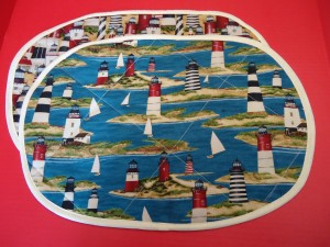 Harford County Quilted Placemats, Maryland Quilted Placemats for Sale