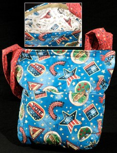 Harford County Quilted Purses, Maryland Quilted Tote Bags