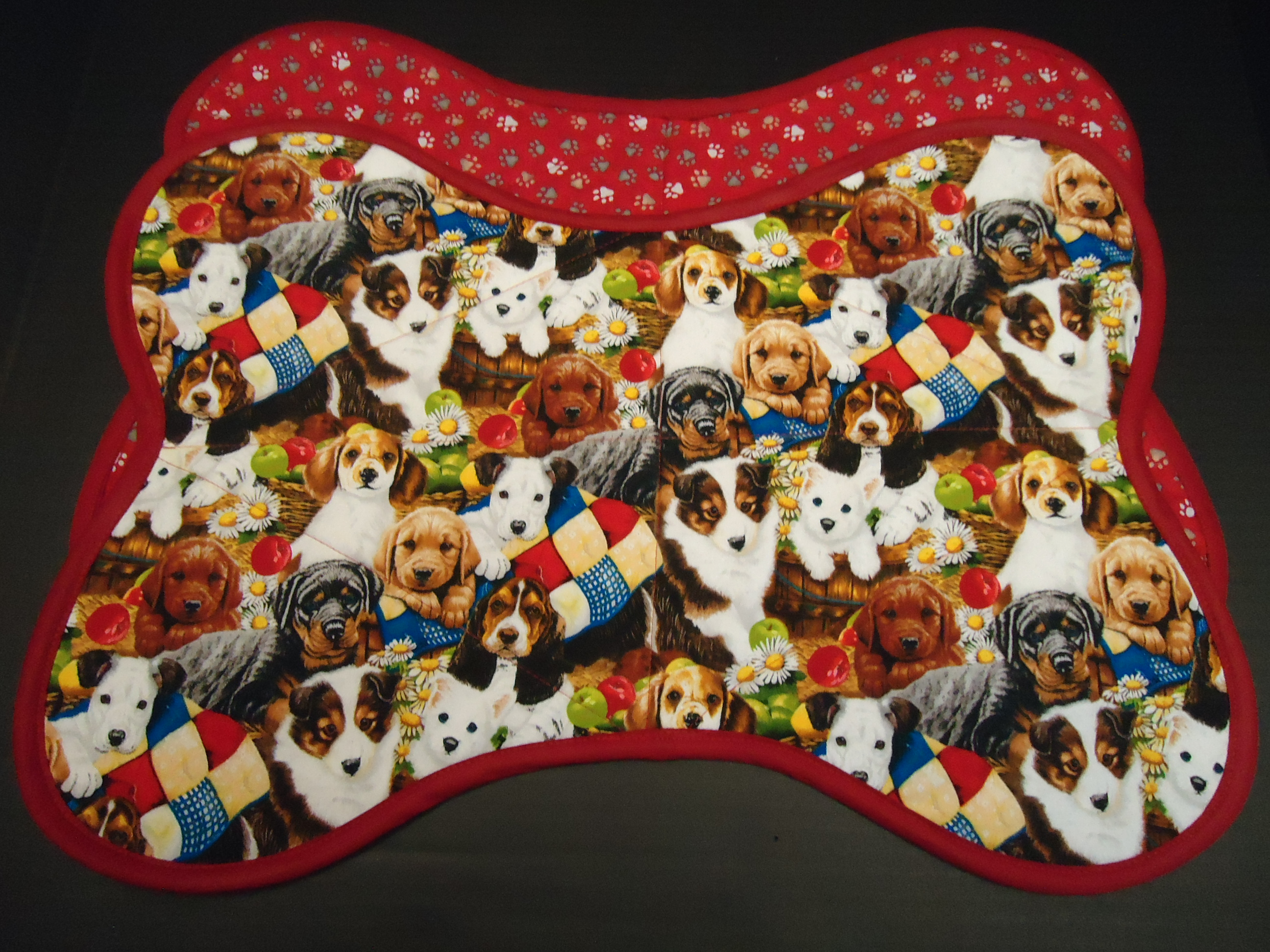 Quilted Pet Food Mats for Sale