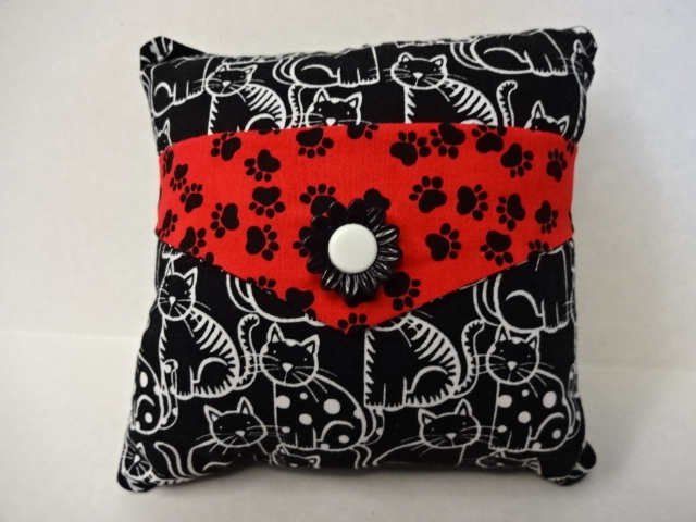 Black Cat Decorative Pillow