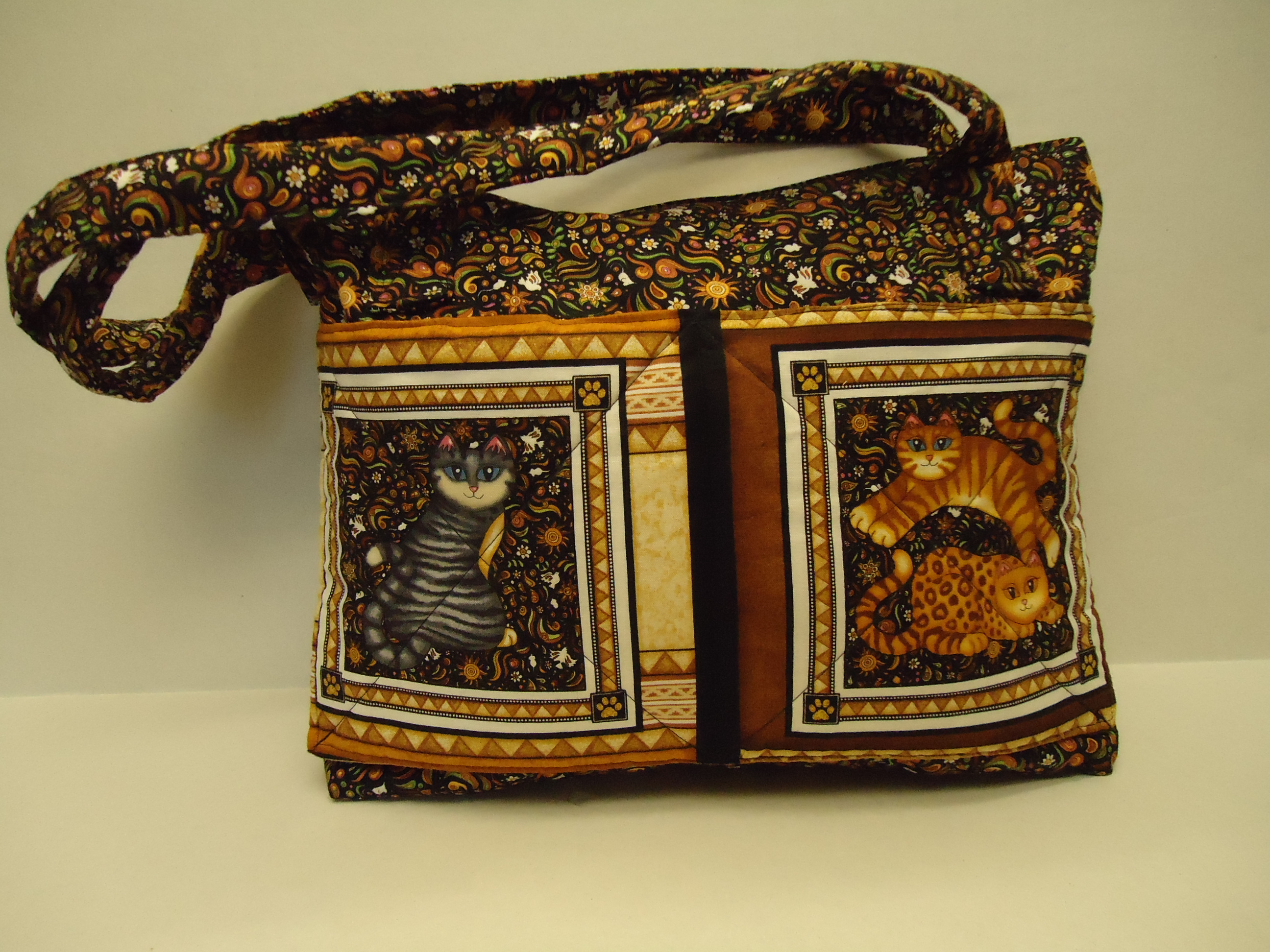Cat Purse Outside