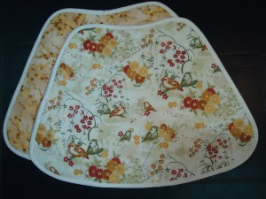 Wedge-Shaped Placemat